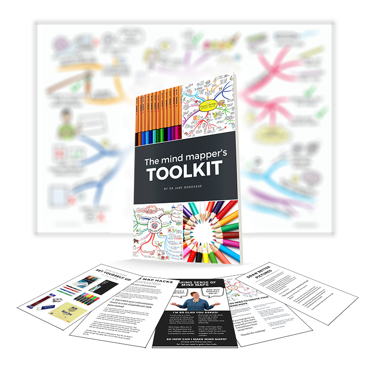 Get your Free Copy of the Mind Mapper's Toolkit