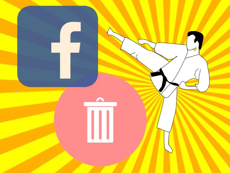 Deleting social media