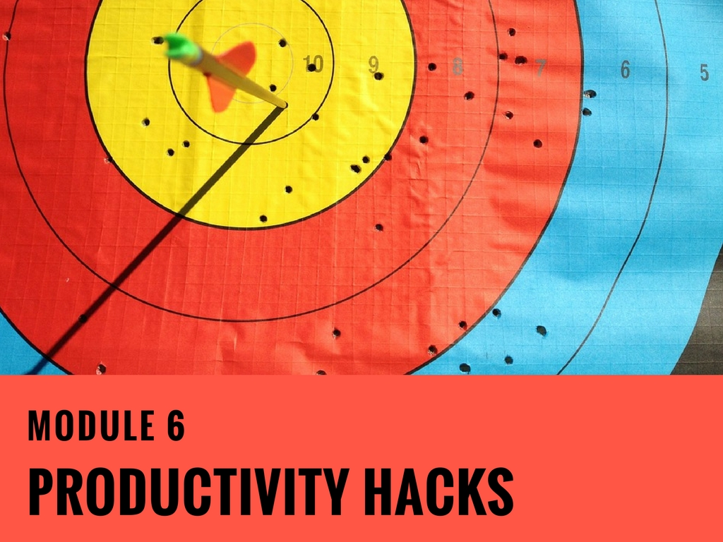 Module-6 Productivity Hacks