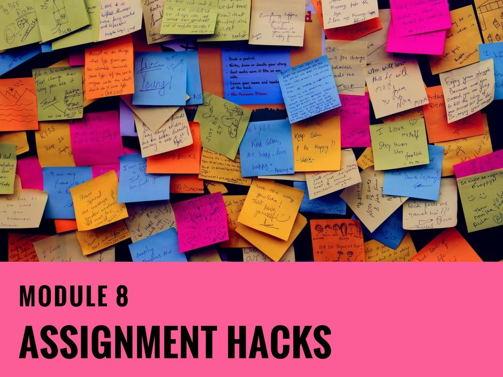 Module-8 Assignment Hacks