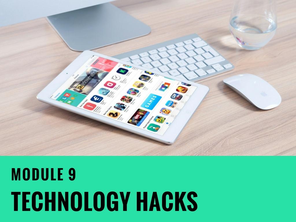 Module-9 Technology Hacks