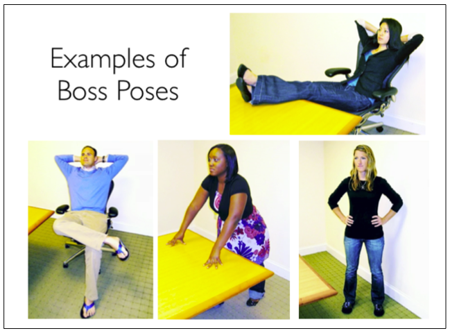 Strike one of these poses for 2 minutes to increase confidence and decrease stress