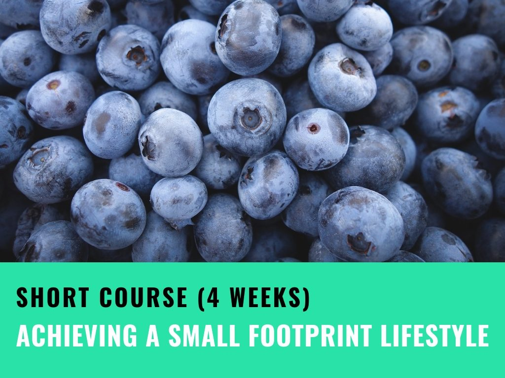 Achieving a small footprint lifestyle