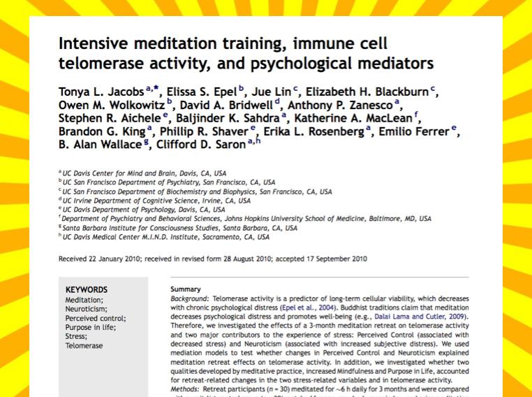 telomerase study